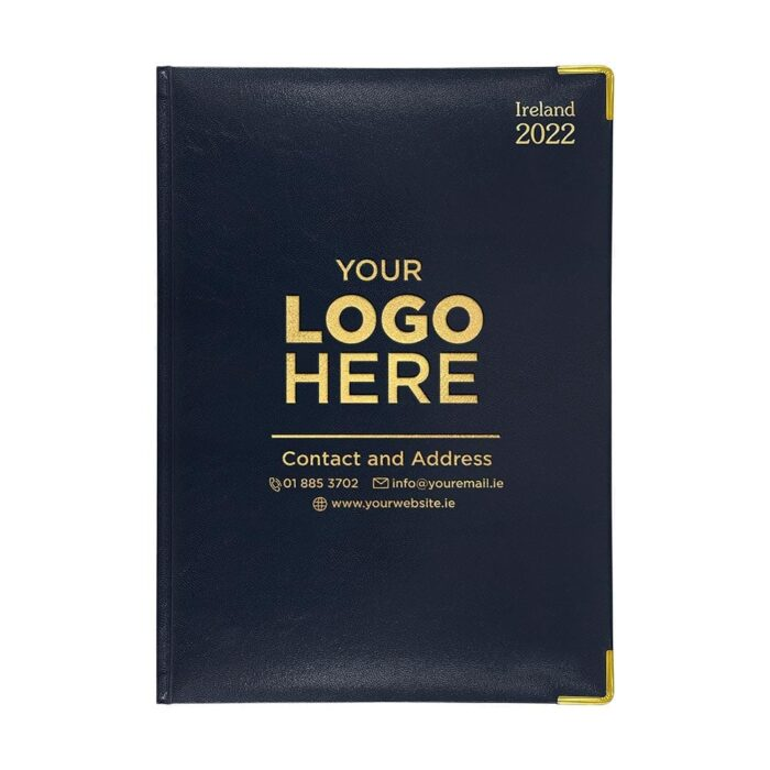 2021 A41 Deluxe Diary Navy
