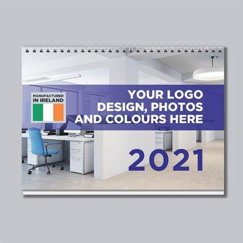 2021 Bespoke A5 Desk calendar