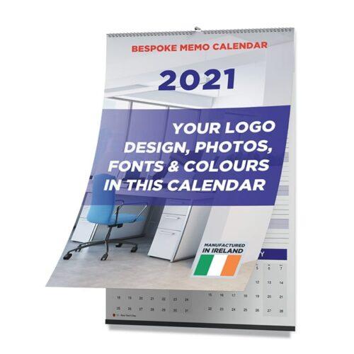 2021 Bespoke Memo calendar