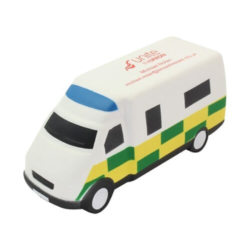 The Anti stress Ambulance is manufactured in high quality PU foam. This tractor stress shape combines an element of fun and value for money.