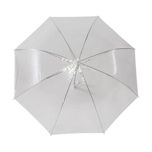 Transparent automatic umbrella