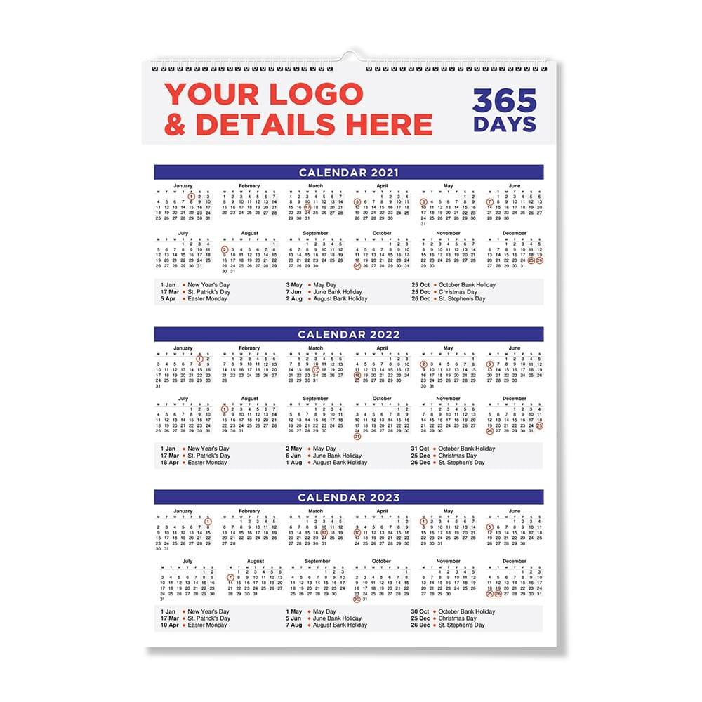 Bespoke Wall calendar 2022