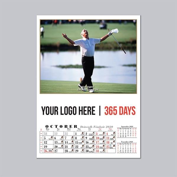 Irish Sports wall Calendar 2021