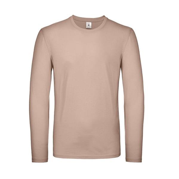 B&C cotton long sleeved t-shirt