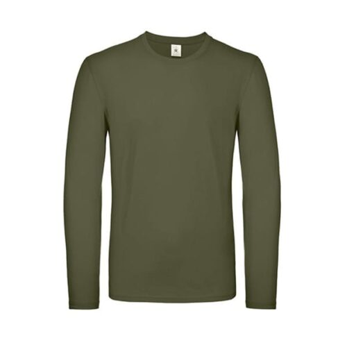 B&C cotton long sleeved t-shirt