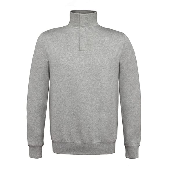 B&C 1/4 zip sweatshirt