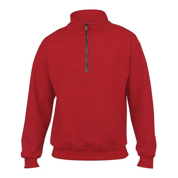 Heavy Blend Cadet collar sweatshirt