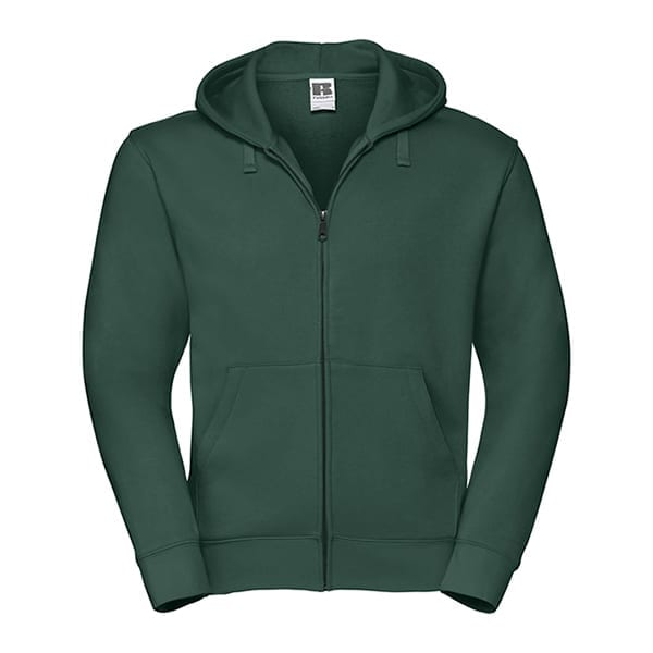 Russell zipped hooded sweat