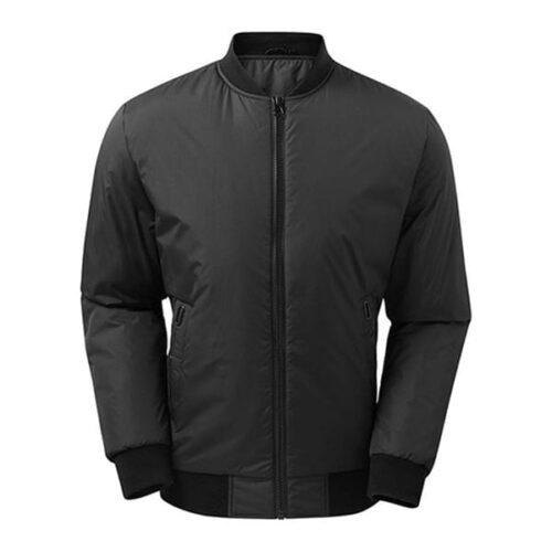 Delta plain bomber jacket