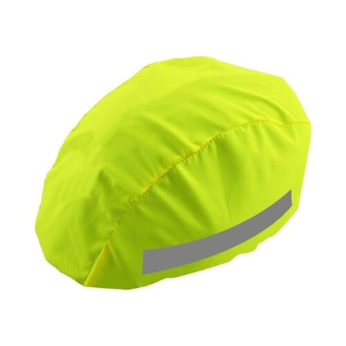 Reflective helmet cover
