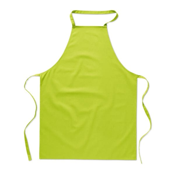 Kitchen apron in 180 gr/m² cotton material