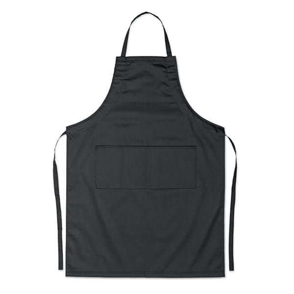 Adjustable kitchen apron with 2 pockets