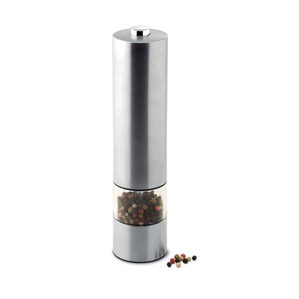 Stainless steel electric salt or pepper Mill