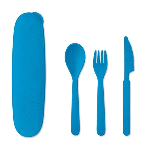 PP and Wheat straw Re-usable cutlery