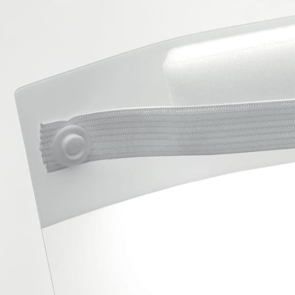 PET Face shield with an elastic headband