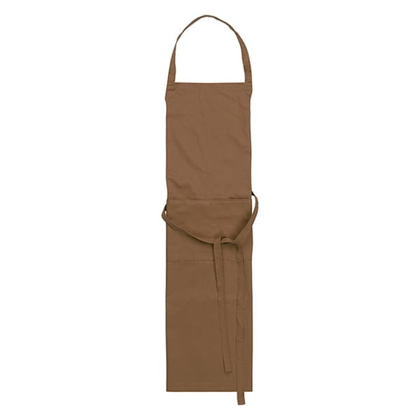 Cotton with polyester apron with pocket