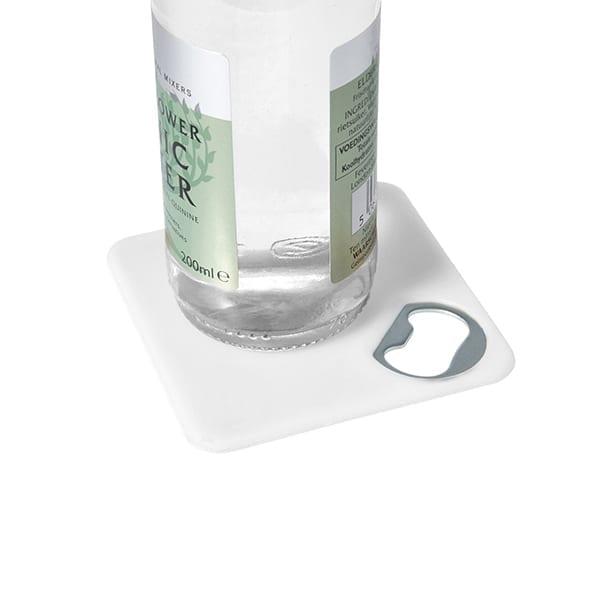 HIPS Coaster with bottle opener