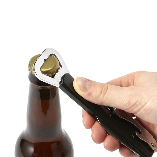 Waiter's friend with knife, opener and corkscrew