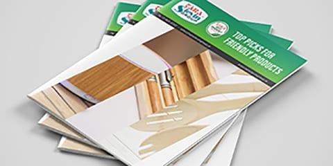 Eco-friendly brochure