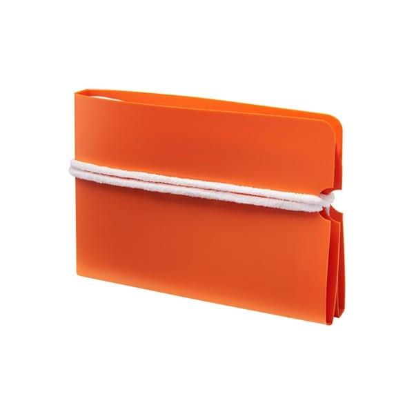 Fold-up face mask wallet