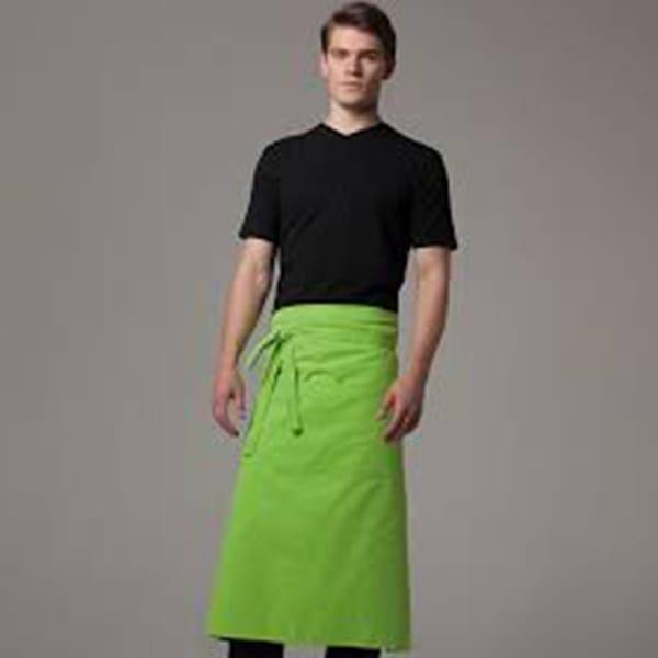 Bar apron long