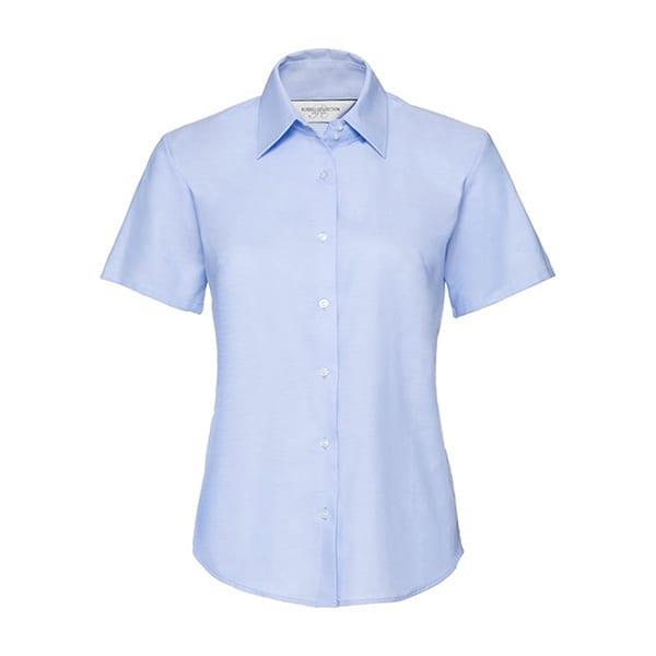 Women's short sleeve Oxford shirt