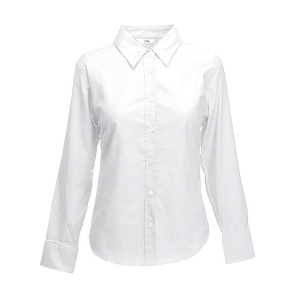 Women's Oxford long sleeve shirt