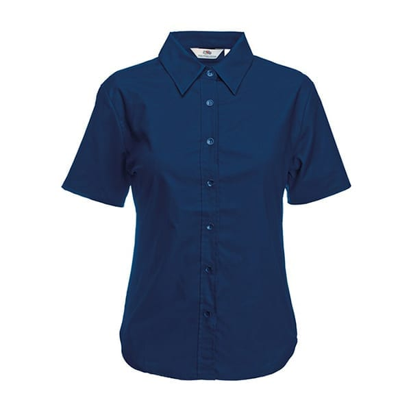 Women's Oxford short sleeve shirt
