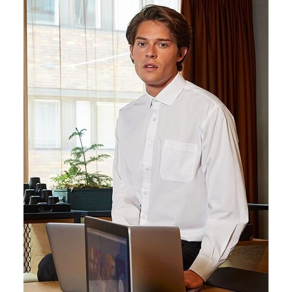 Men's smart long sleeve shirt