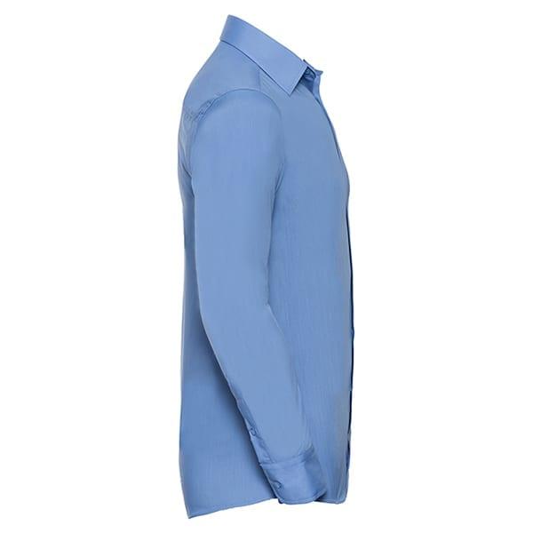 Men's long sleeve polycotton shirt