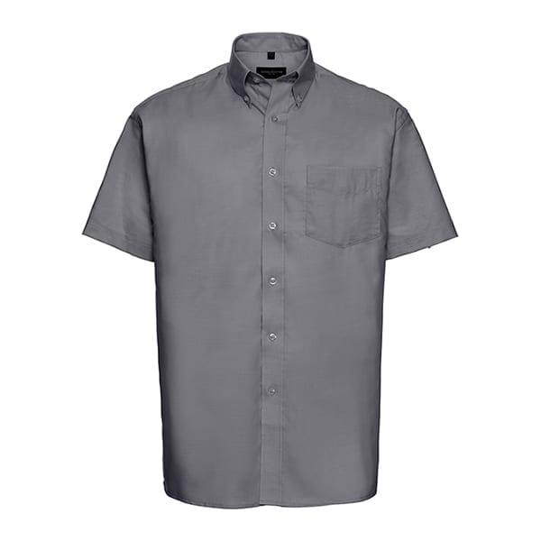 Men's short sleeve Oxford shirt