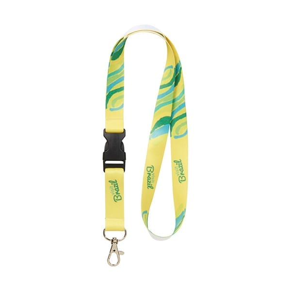 Sublimation Lanyard with detachable buckle