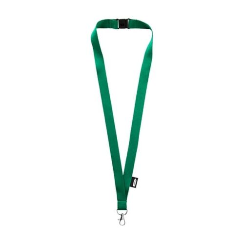 Recycled PET Lanyard with safety breakaway