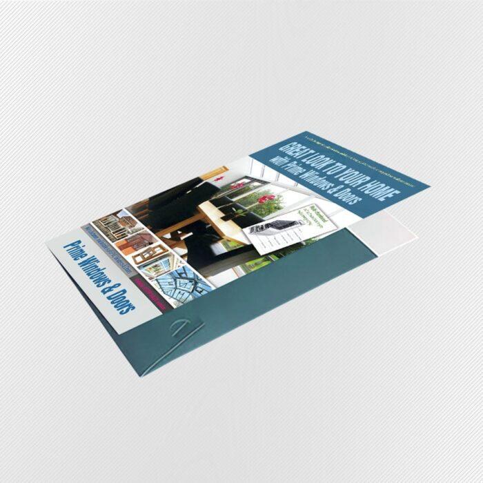 interlocking folder die-cut