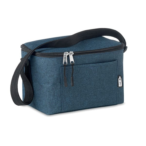 Cooler bag for 6 cans in RPET