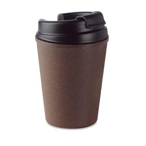 Double walled coffee mug