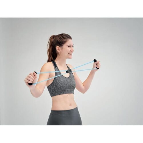 Multi-function tension exercise rope