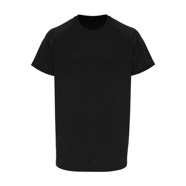 TriDri embossed sleeve t-shirt
