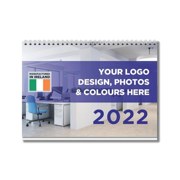 A5 Bespoke Desk calendar & planner 2022