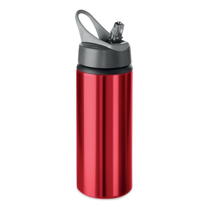 Aluminium single wall bottle 600ml
