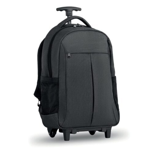 Backpack trolley 2 tone polyester