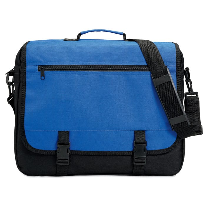 Document flap bag in 600D polyester