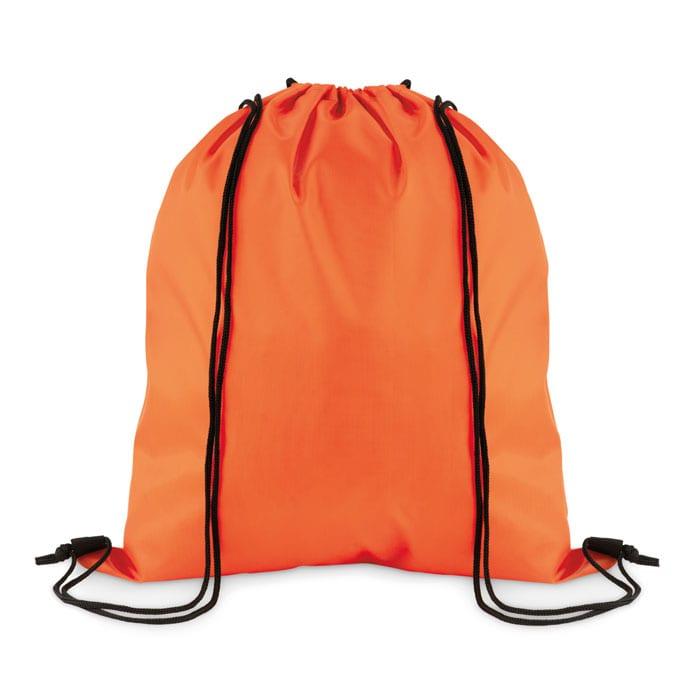 Drawstring bag in 210D polyester