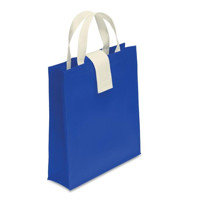 Foldable nonwoven shopping bag