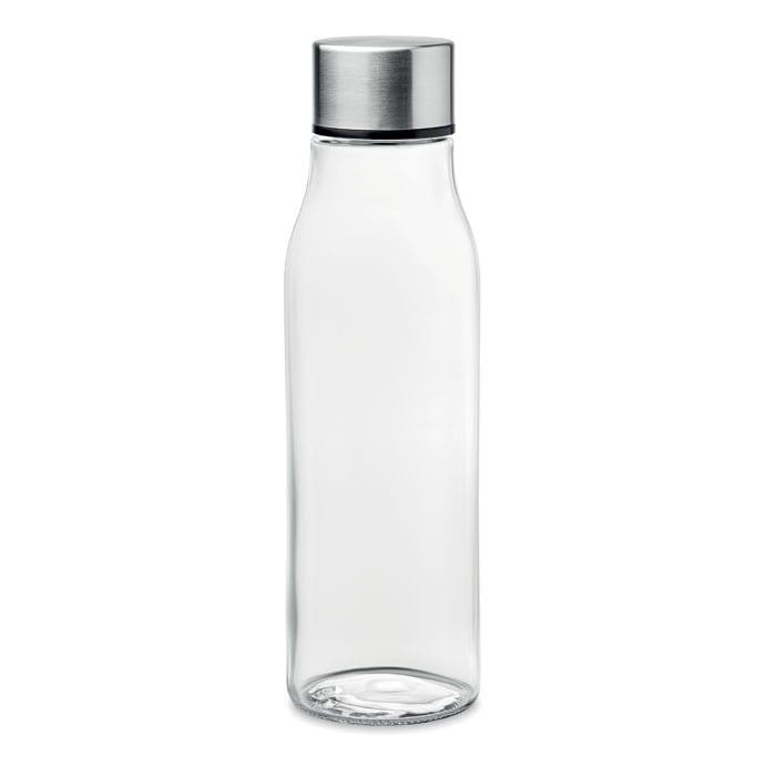 Glass bottle with aluminium lid 500ml