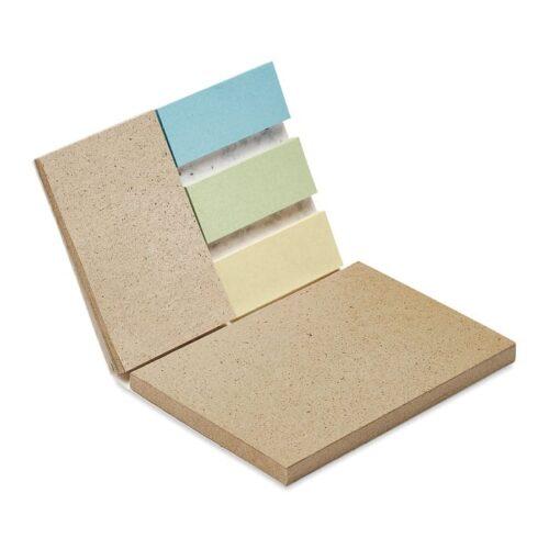 Grass seed paper memo set