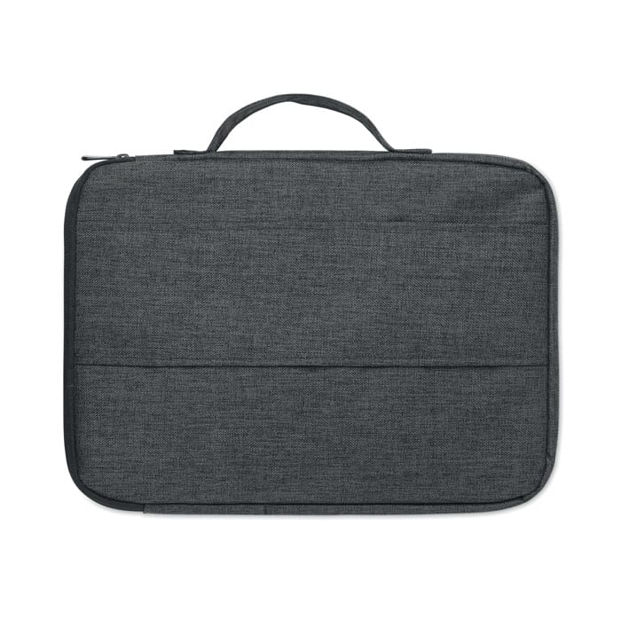 Two Tone Polyester Laptop bag 13 inch