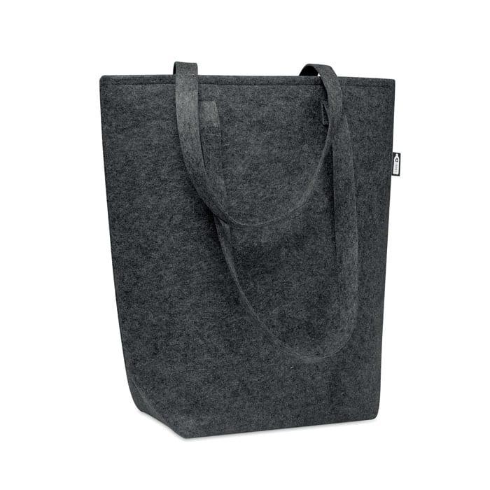 RPET felt shopping bag with long handles