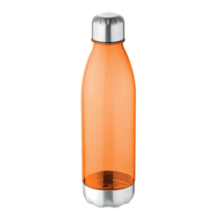 Tritan Bottle with metal lid and bottom 600ml