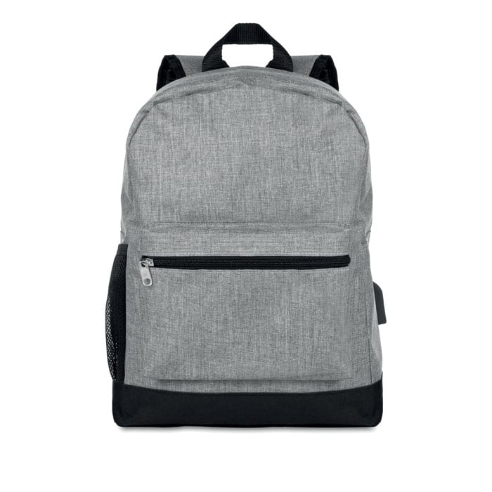 Two tone Polyester Backpack
